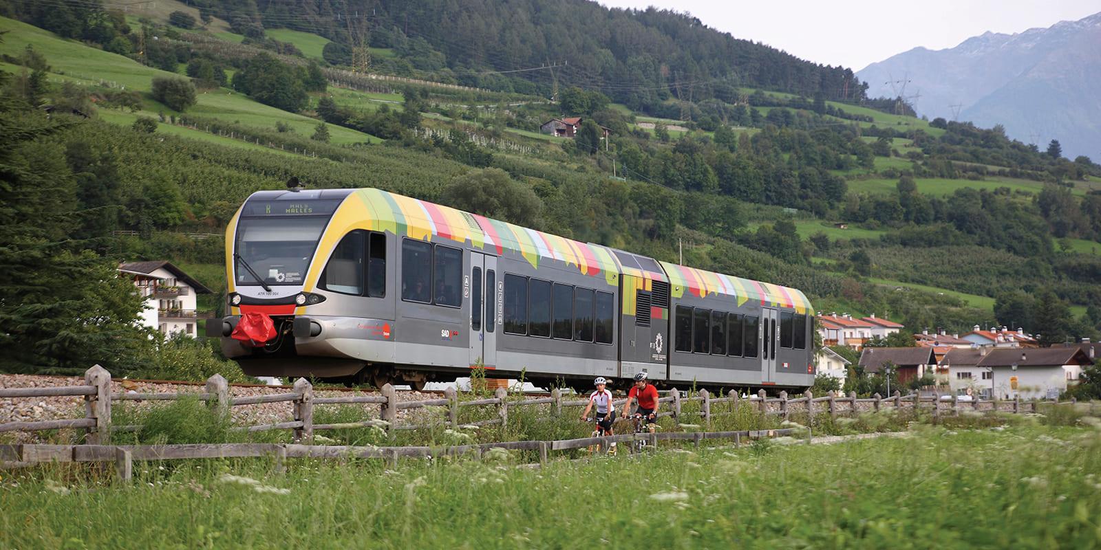 GERHARTS - Mit der Bahn durch Südtirol