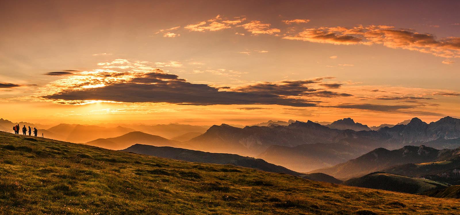 GERHARTS - Sonnenaufgang auf dem Gabler