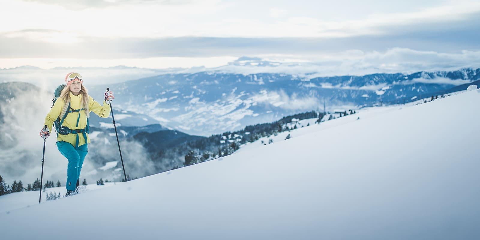 GERHARTS - Mit Ski auf die Plose