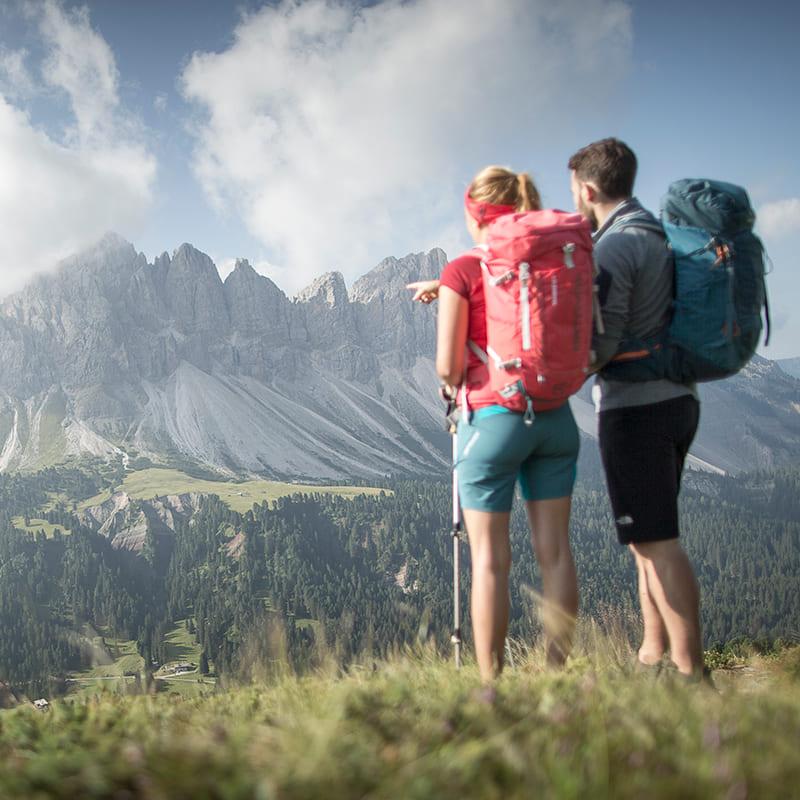 GERHARTS - Wanderung im Sommer auf der Plose in Brixen