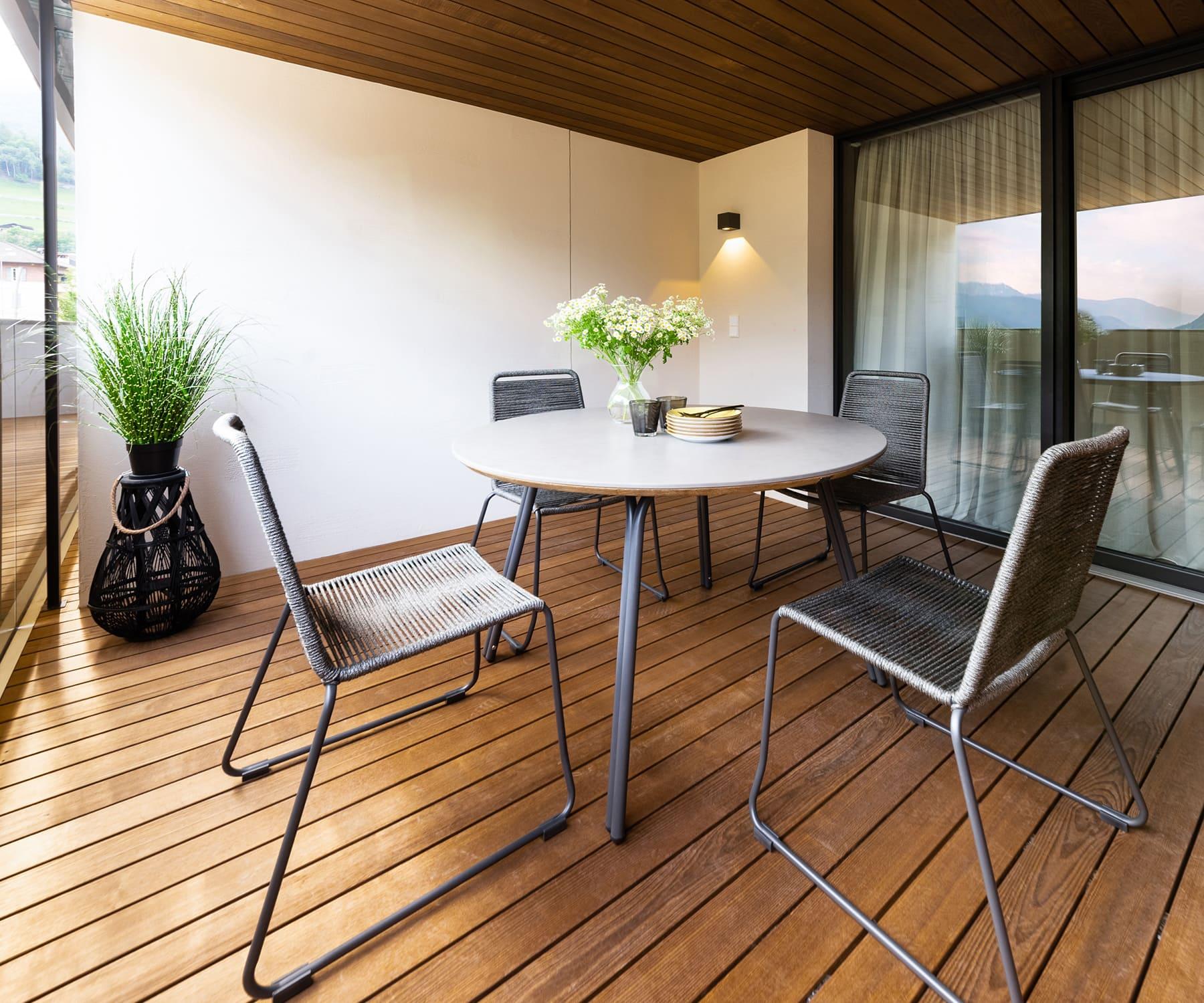 Gerharts - Premium City Living Terrasse