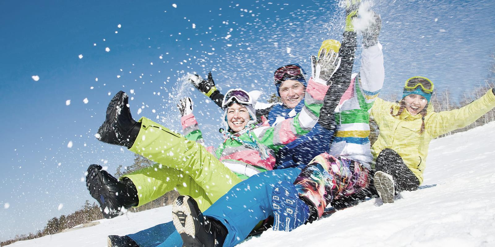 GERHARTS - Schneeballschlacht im Winter