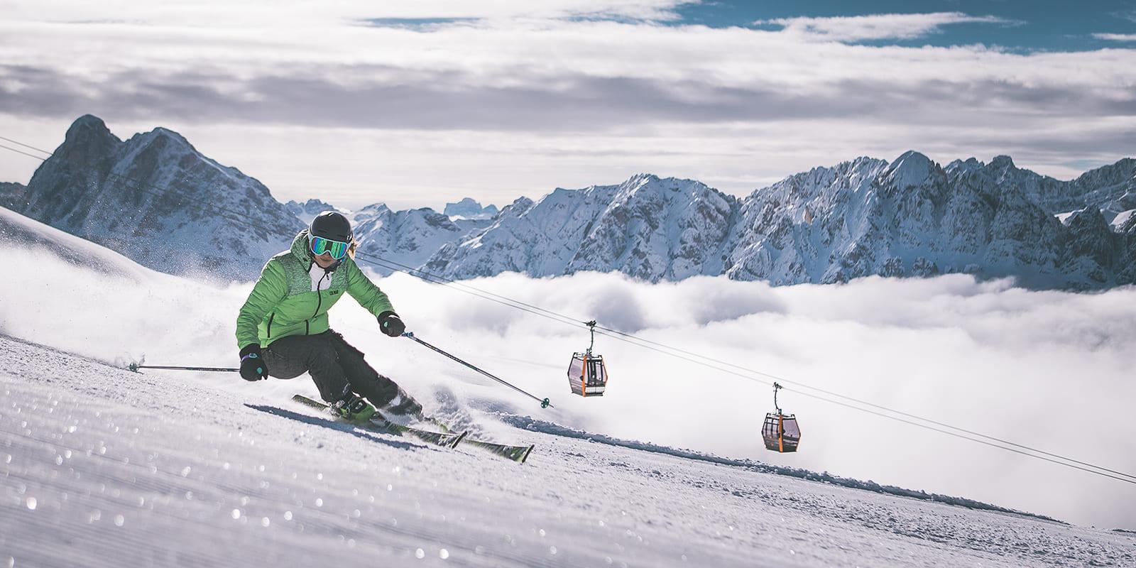 GERHARTS - Skifahren auf der Plose im Winter