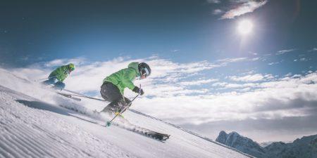 GERHARTS - Skifahren im Winter auf der Plose in Brixen