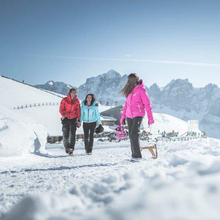 GERHARTS - Wandern im Winter auf der Plose