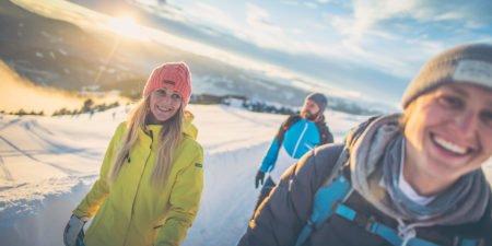 GERHARTS - Wandern im Winter auf der Plose in Brixen