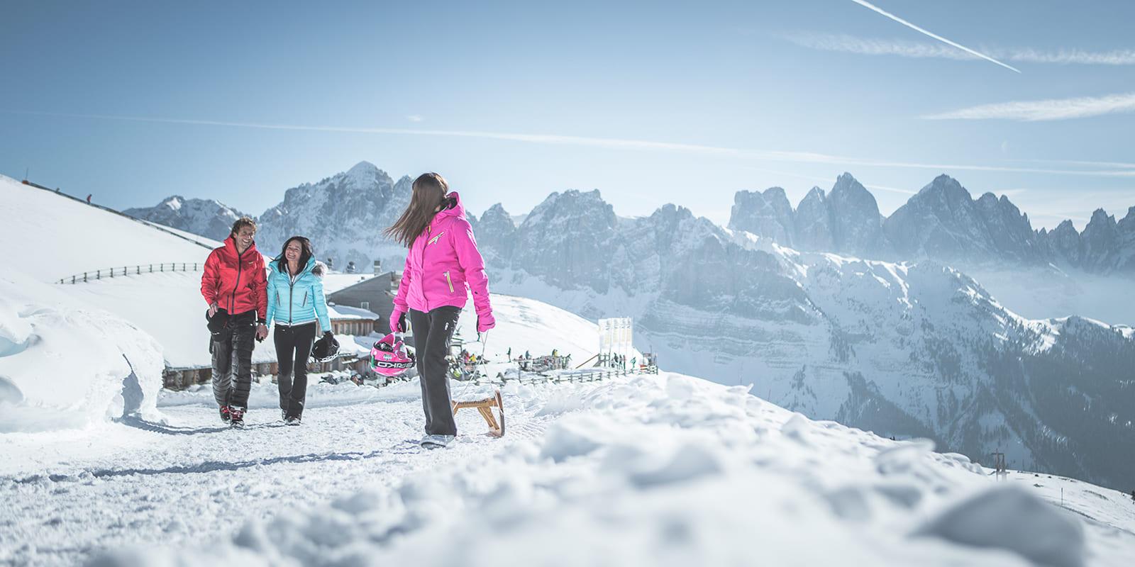GERHARTS - Winterwanderung auf der Plose