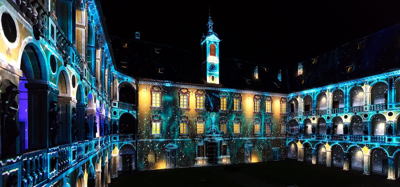 Gerharts - Weihnachten und Lichtershow in Brixen